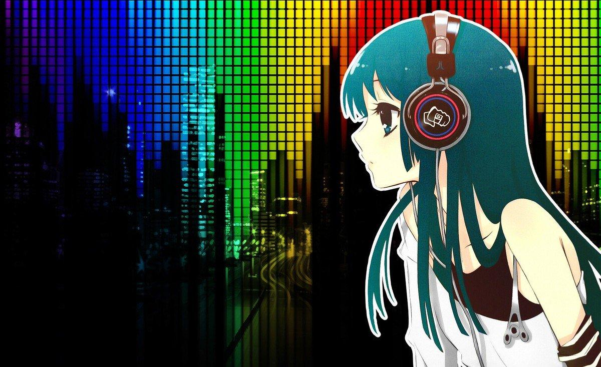 Аниме картинки под музыку