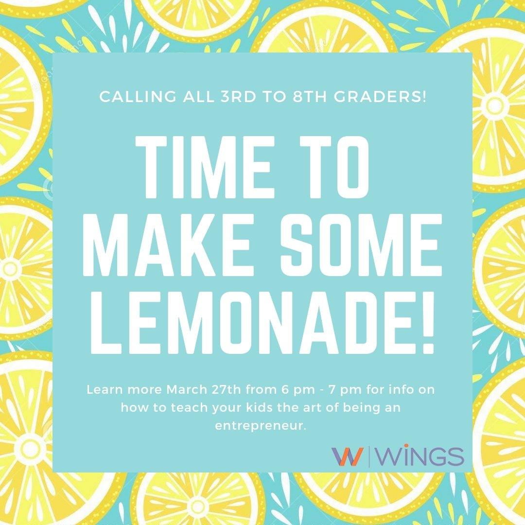 test Twitter Media - Don't miss out on #LemonadeDay, a great way to get your kids engaged in what it's like to run their own business - a lemonade stand. Limited space available, so sign up now! Register at https://t.co/137Bn8byjm for orientation 3/27. #lemonadedallas2019 #YouthEntrepreneurship https://t.co/uoTXaFVLMl