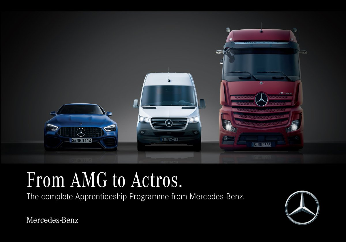 Y11 – exciting opportunities for apprenticeships here with @MercedesBenz.