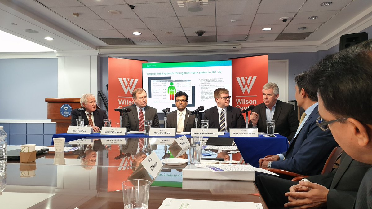 A great panel discussion on the transformation of India  IT Services to become partners for digital transformation n innovation globally. @TheWilsonCenter @nasscom