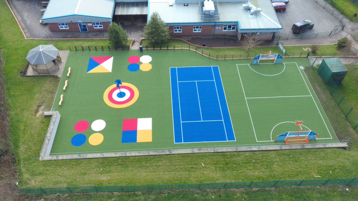 Have a look at this fun MultiGame project we carried out for @ShirleyManor, a primary school in Birmingham!  The new MultiGame pitch is used for teaching children new skills and making playtime fun, engaging and exciting  <br>http://pic.twitter.com/cOIjp76rlq