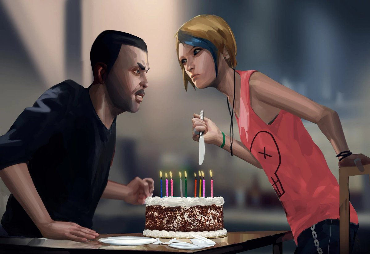 Prime Life Is Strange Wiki On Twitter Today Is Chloe Prices 25Th Funny Birthday Cards Online Aeocydamsfinfo