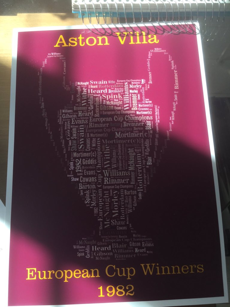 We're giving a Villa print to a follower at 11pm on Wednesday.  To enter:  ⚽️ RT this & comment which print you want  ⚽️ Follow @AGT79  Good luck!  #AVFC