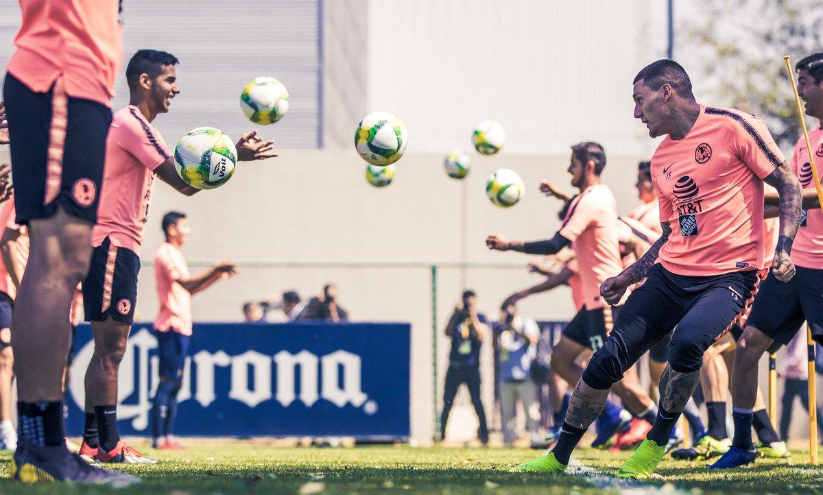El equipo de América ya tiene la alineación para Copa MX