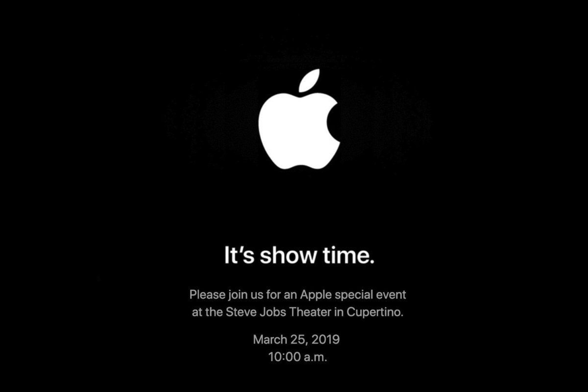 Its Show Time: Apple's Next Event To Take Place On 25 March