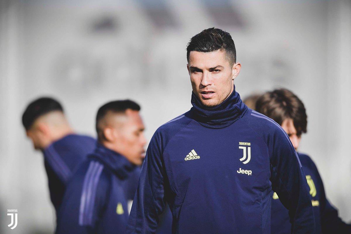 Focused & Ready for @Atleti 🔥💪  VAMOS EL BICHO. @Cristiano