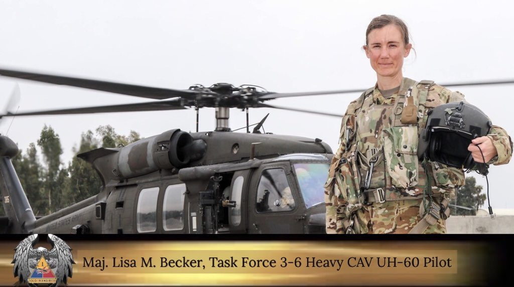 """#WomensHistoryMonth  """"I have worked with incredibly talented and inspiring women throughout my career. I'm humbled by the women who paved the way for all of us to flourish and succeed in the military.""""   #FemaleAviators #IronEagles #IronSoldiers #ArmyStrong """