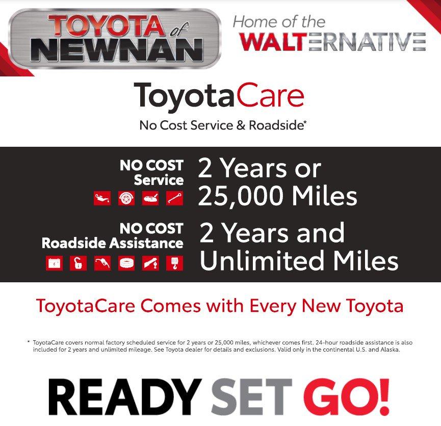 Toyotacare Roadside Assistance Number >> Toyota Of Newnan Toyotaofnewnan Twitter