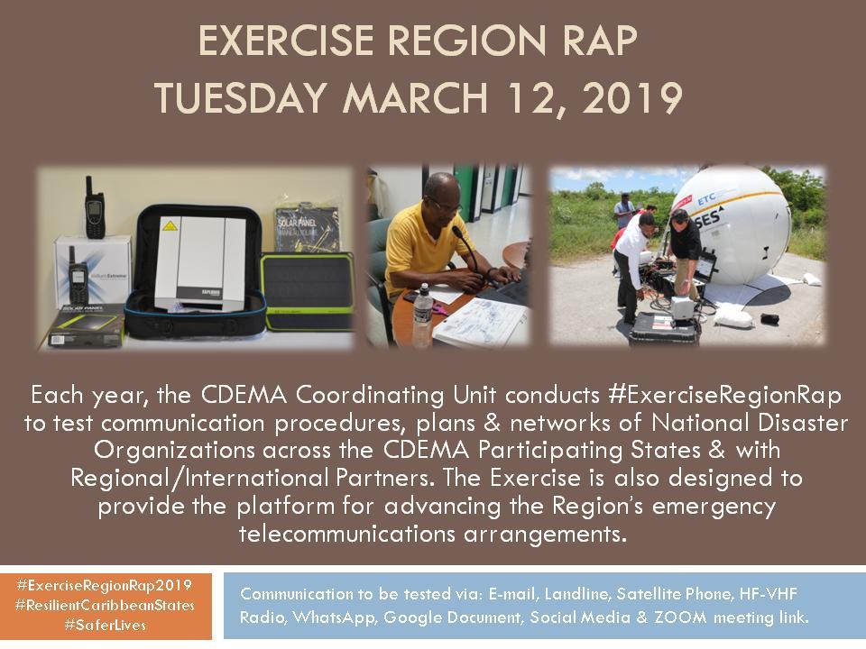 Exerciseregionrap2019 hashtag on Twitter
