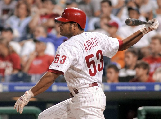 Wishing a Happy 45th Birthday to former Phillies outfielder Bobby Abreu!