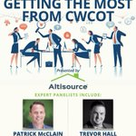 """Have you registered for DS News' """"Getting the Most From CWCOT"""" webinar, presented by @Altisource? This complimentary, informative webinar is scheduled for Thursday, April 4, from 2-3 p.m. CT. Click this link to register: https://t.co/cCvyExAq4S"""