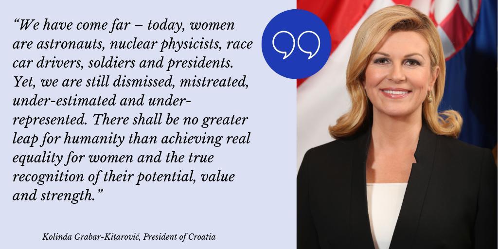 Grabar-Kitarović preuzela predsjedanje Vijećem žena svjetskih lidera - Page 2 D1ZJguYXQAAQYpy