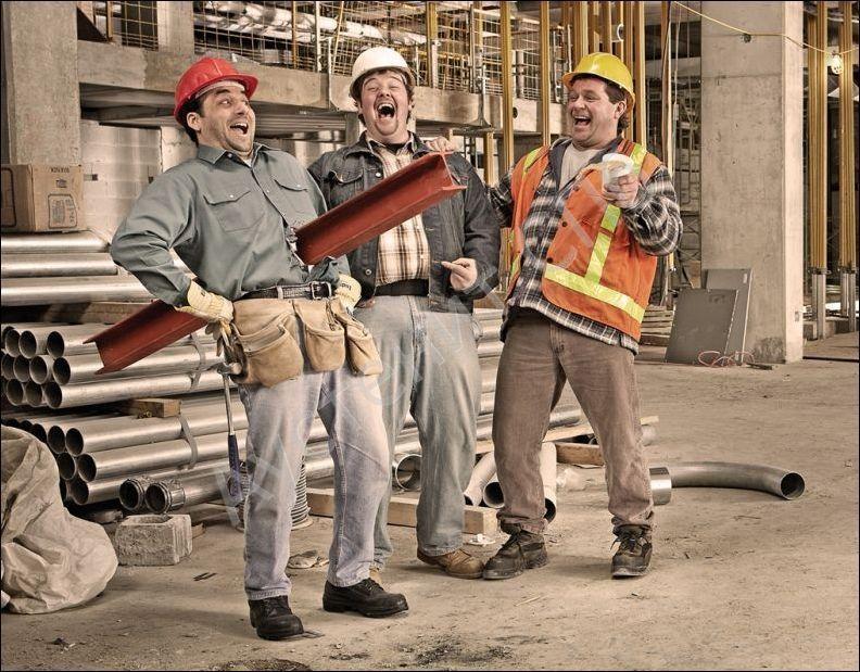 Картинка смешных строителей