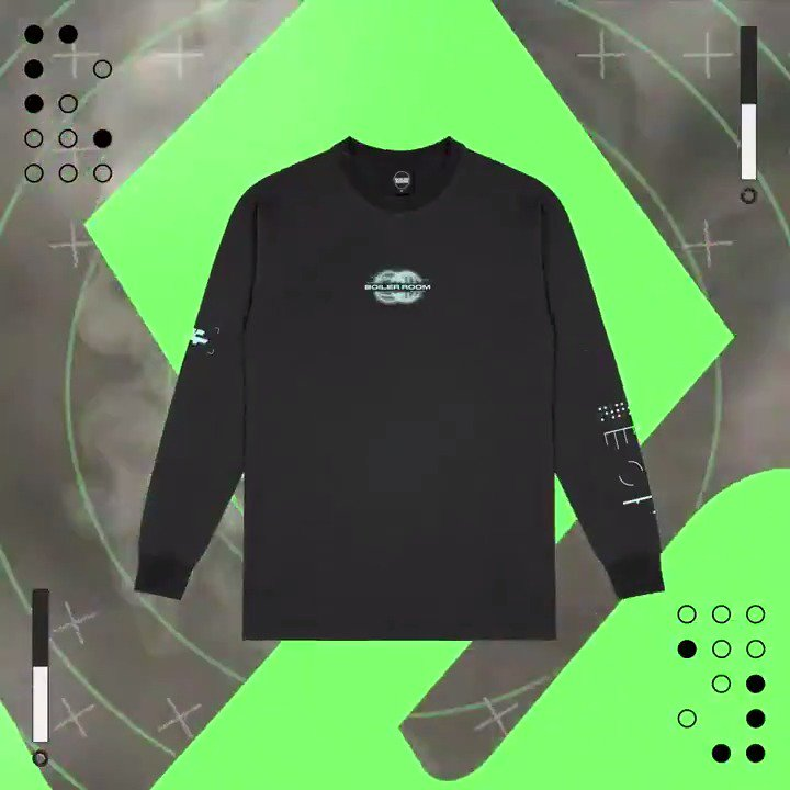 Limited Edition Long Sleeve // Available at our LDN warehouse party tonight 🌐