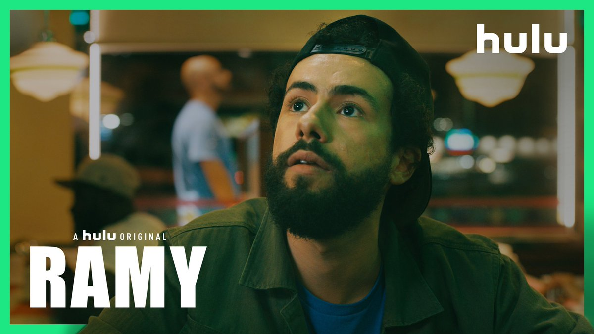 RAMY by @ramy starring @ramy is here. 10 incredible episodes coming to @hulu 4/19