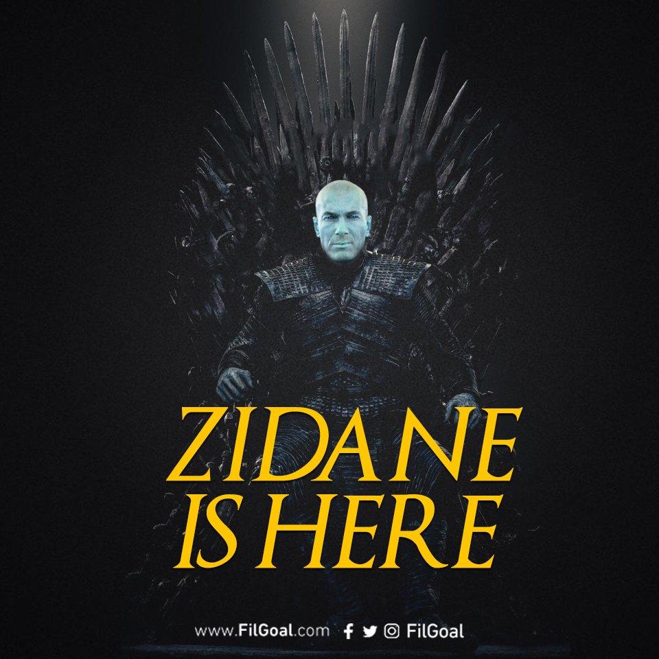 📝👍 حسم الأمر! 🚨إسبانيا في حالة طوارئ!  ريال مدريد يٌعلن عودة زين الدين زيدان كمدرب للفريق خلفًا لسانتياجو سولاري حتي عام 2022!  #RealMadrid  #GameofThrones