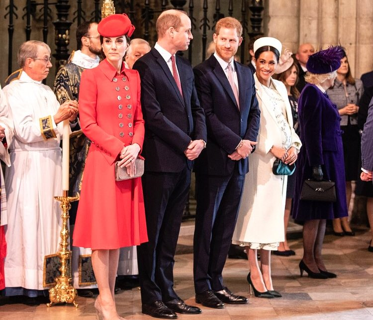 День Содружества Наций. Служба в Вестминстерском аббатстве
