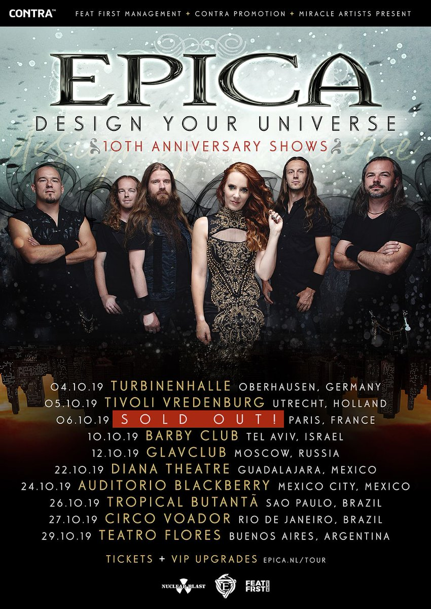 This fall we will be celebrating the 10th anniversary of Design Your Universe with a number of exclusive shows! 🤘Get your tickets now as these shows will sell out!