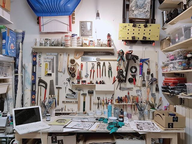 #StudioVisit #ArtistStudio #curating #ContemporaryArt https://t.co/kekoR1eDDh