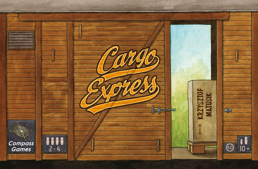 All Aboard! With 13 days go to, we have surpassed the 80% pledge level needed for our new Euro game, CARGO EXPRESS. This is a light, competitive game for the entire family. We hope you can back our project and help push us over the mark. https://kck.st/2tCbFu4  @compassgamesllc