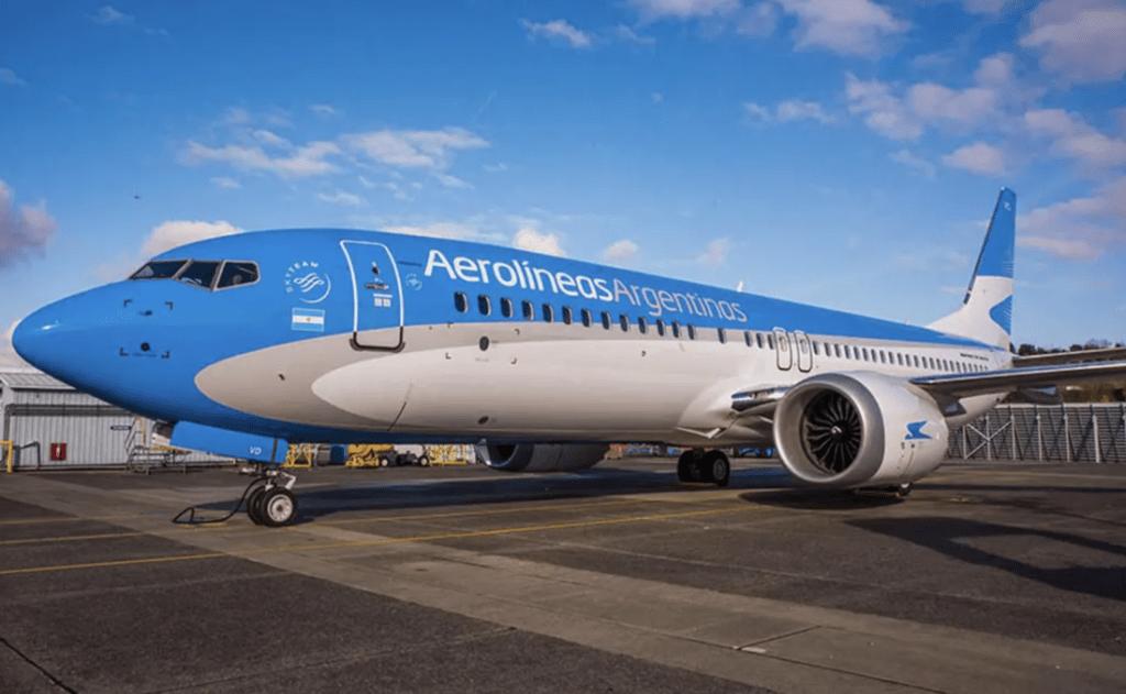 Augusto Finocchiaro Preci's photo on Aerolíneas Argentinas