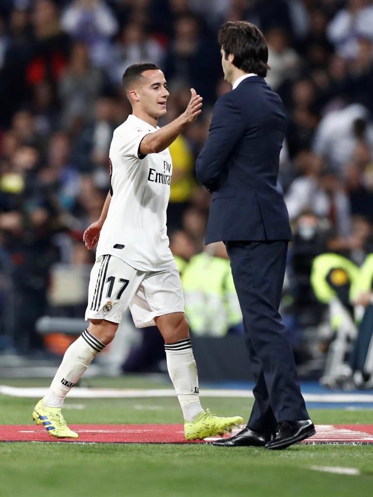 Muy agradecido por tu confianza en mí, míster. Gracias por tu entrega y tu dedicación. ADN Real Madrid. Eres un crack. Mucha suerte ❤