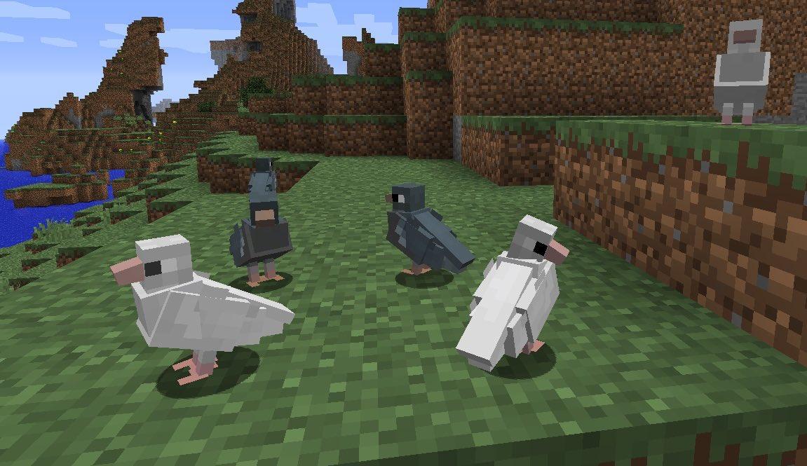 птицы в майнкрафт 1.7.2 #3