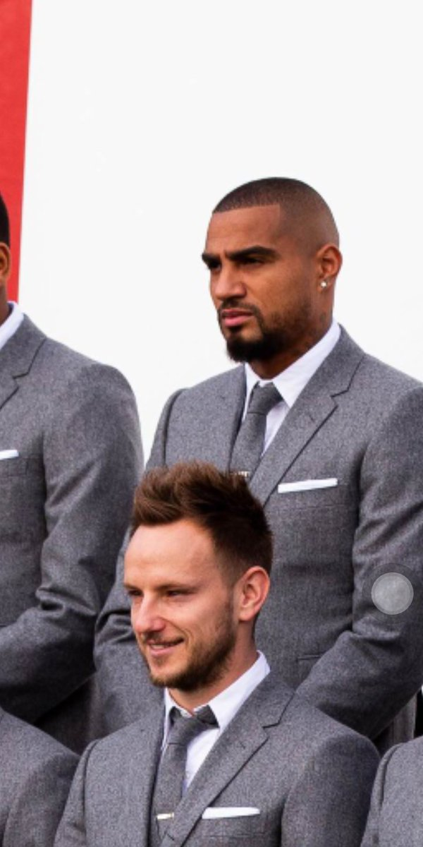 Boateng out here looking like El Chapo