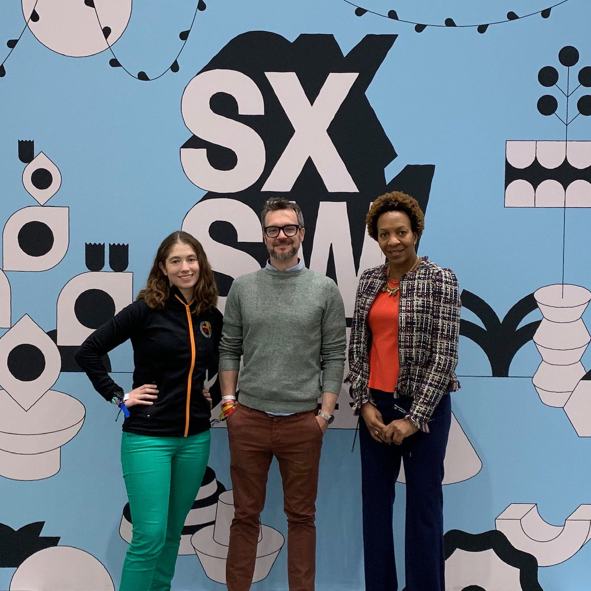 Katie, Michael, and Rita are ready to tell their story on how to Seek the Truth, and Speak the Truth. #SXSW2019 https://schedule.sxsw.com/2019/events/PP87888 …