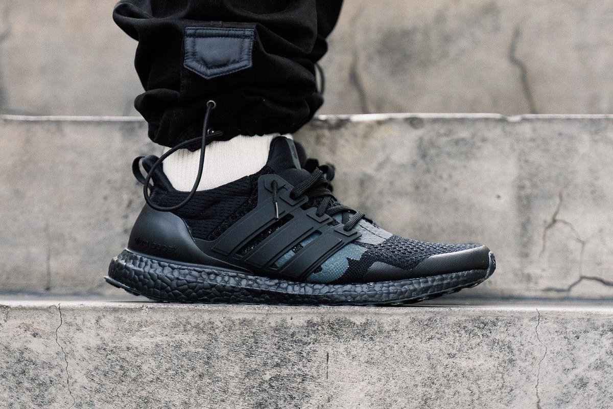 a81688d0f46 ... Boost 1.0  Triple Black  https   thesolesupplier.co.uk news on-foot -look-at-the-undefeated-x-adidas-ultra-boost-1-0-triple-black  …pic.twitter.com   ...