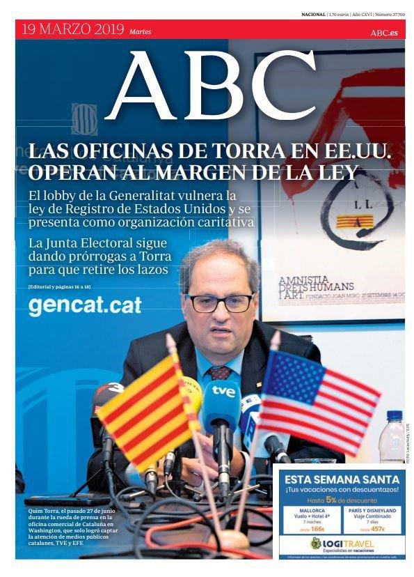 A golpe de click, consulta aquí las principales portadas de este martes 19-M http://ww.cope.es/tquk8541