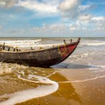 Image for the Tweet beginning: #Tajpur beach in #WestBengal's Purba