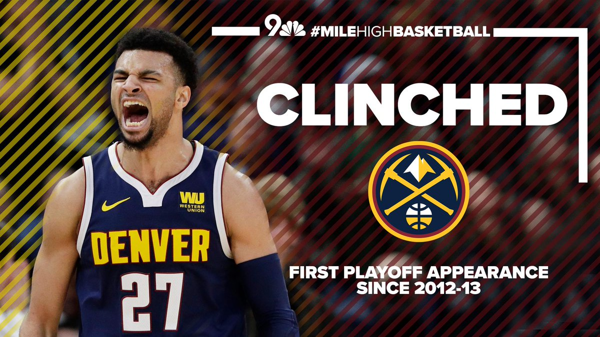 The Nuggets will be playing post season basketball.    #9Sports #MileHighBasketball <br>http://pic.twitter.com/9jHDJnrGEd