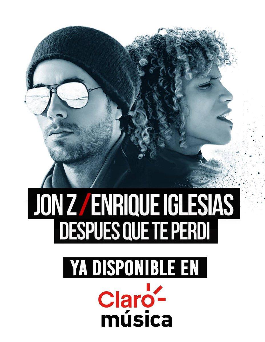 Escucha el nuevo sencillo DESPUES QUE TE PERDI con @JONZMENPR, en Claro Música https://t.co/PJqvMjpACx   Listen to the new single DESPUES QUE TE PERDI in Claro Música https://t.co/PJqvMjpACx https://t.co/McmxTqdTW9