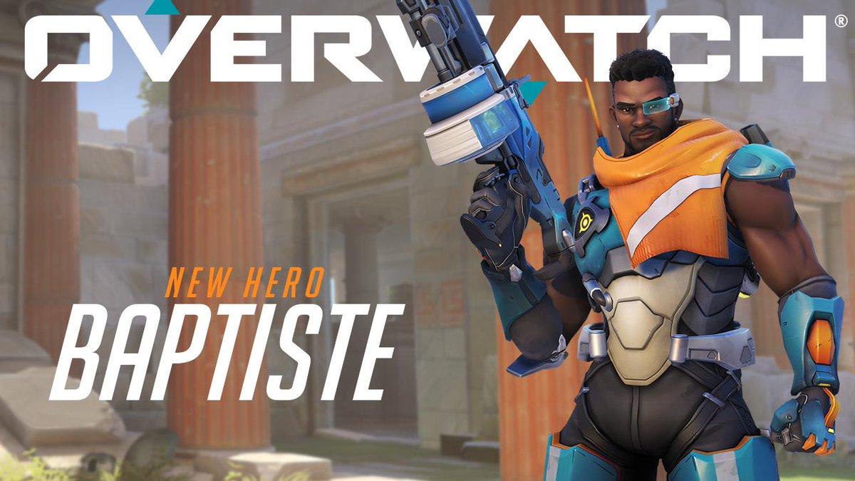 Overwatch's photo on Baptiste