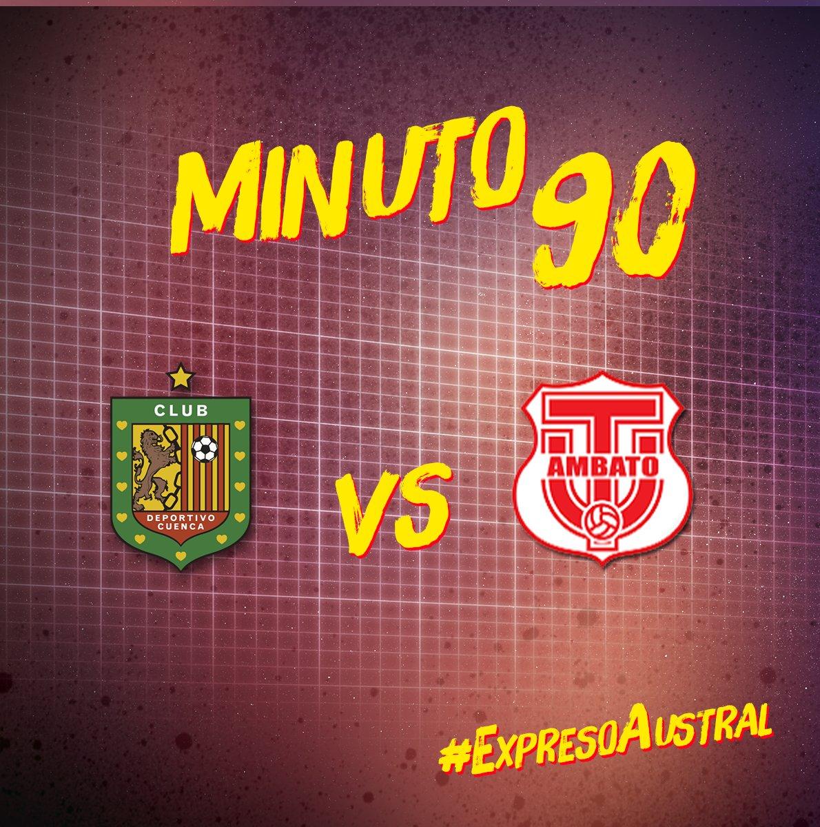 Tiempo completo en el segundo tiempo #DCuenca 4 - #TécnicoU 3 #6taFecha #LigaProBancoPichincha