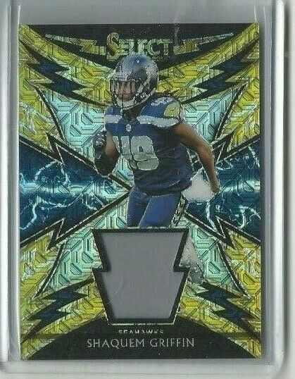 2018 Panini Select Shaquem Griffin Player Worn Jersey 10/10: $22.50 (5 Bids) End Date: Monday Mar-18-2019 20:30:33 PDT Bid now | Add to watch list  http:// rover.ebay.com/rover/1/711-53 200-19255-0/1?ff3=2&amp;toolid=10039&amp;campid=5337810312&amp;customid=Cat_212_217KW_Soccer&amp;item=303091479969&amp;vectorid=229466&amp;lgeo=1&amp;utm_source=dlvr.it&amp;utm_medium=twitter &nbsp; …  #Sports #Cards #SportsTradingCards<br>http://pic.twitter.com/MpuMS04hnY
