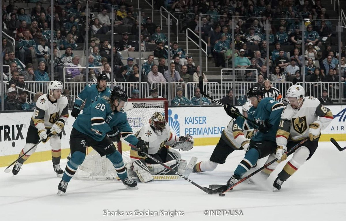 #VGKvsSJS 3-2 @GoldenKnights  End of 1st period.   #SJSharks  #VegasBorn  #NHL #SharksForLife #SharksTerritory #SharksFanNetwork #INDTVUSA<br>http://pic.twitter.com/gv7oRLUUA6