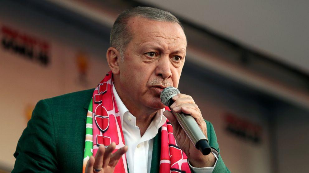Erdogan shows New Zealand attack video in weekend rallies: https://abcn.ws/2Ffe4Ad