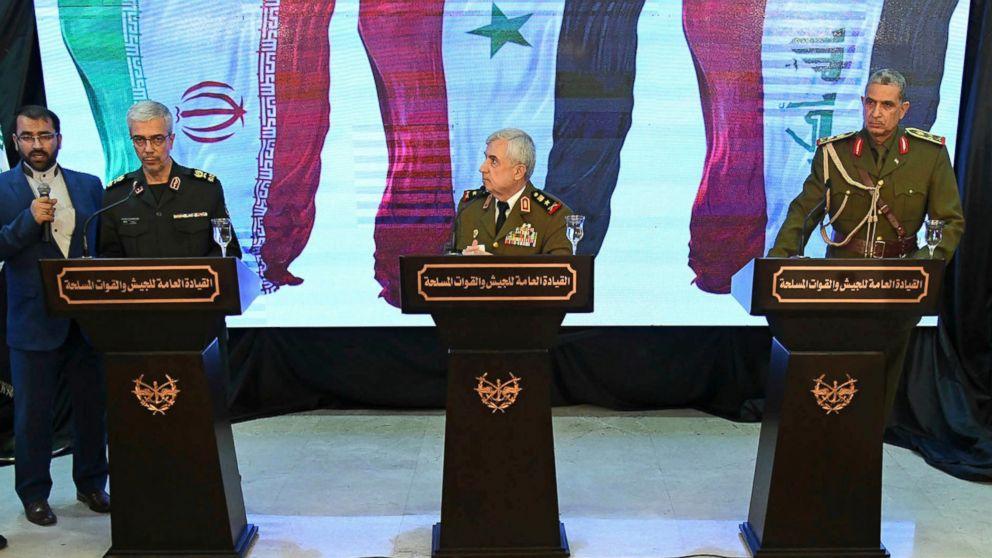 Syria's defense minister slams 'illegitimate' US presence: https://abcn.ws/2TYEKyA