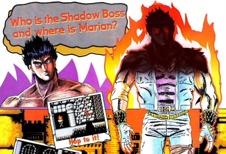 Double Dragon World On Twitter I Really Liked The Nes Exclusive Ending Made The Story Behind The Shadow Warriors Kidnapping Marian More Personal And Expanded On Why The Brothers Fight At The
