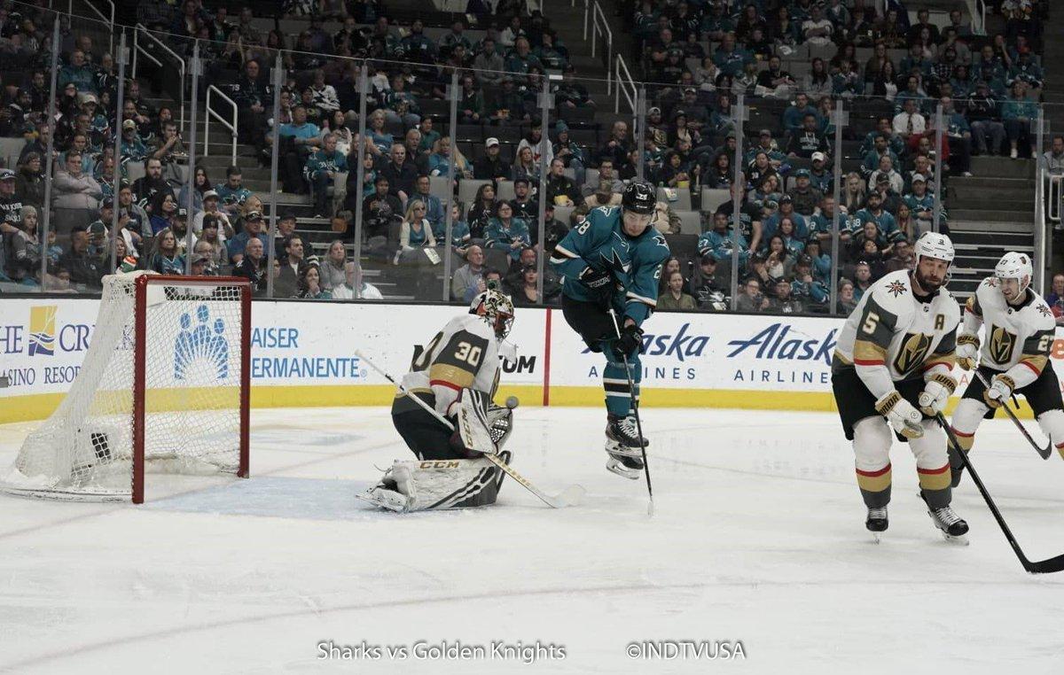 #VGKvsSJS Plenty of penalty action in 2nd period but only one goal.  4-2 @GoldenKnights   P.S. @SanJoseSharks @MeierTimo  fans - your welcome!  #SJSharks  #VegasBorn  #NHL #SharksForLife #SharksTerritory #SharksFanNetwork #INDTVUSA<br>http://pic.twitter.com/94b6j0ukRr