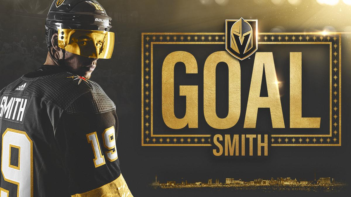 Vegas Golden Knights's photo on Reilly Smith