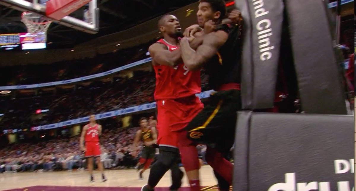 NBA Announces Punishment For Fight Between Raptors, Cavs