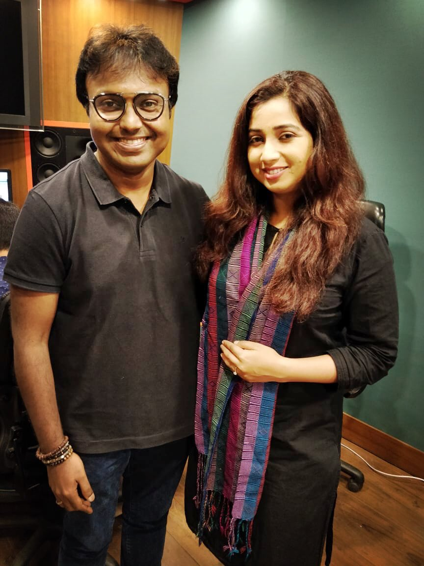Hearty birthday wishes! To the one and only @shreyaghoshal have a blast sis! Wishing you never ending joy n peace! And More Musical years to follow!! God Bless!