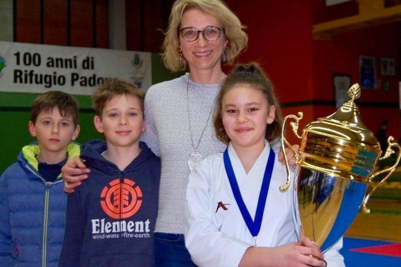 Karate, Greta De Pauli vince il Trofeo AndreaAnt...