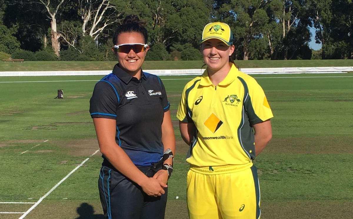 Captain Rachel Trenaman has won the toss and elected to bat first 👏 Stay up-to-date via http://cricket.com.au  and the Cricket Australia Live app.