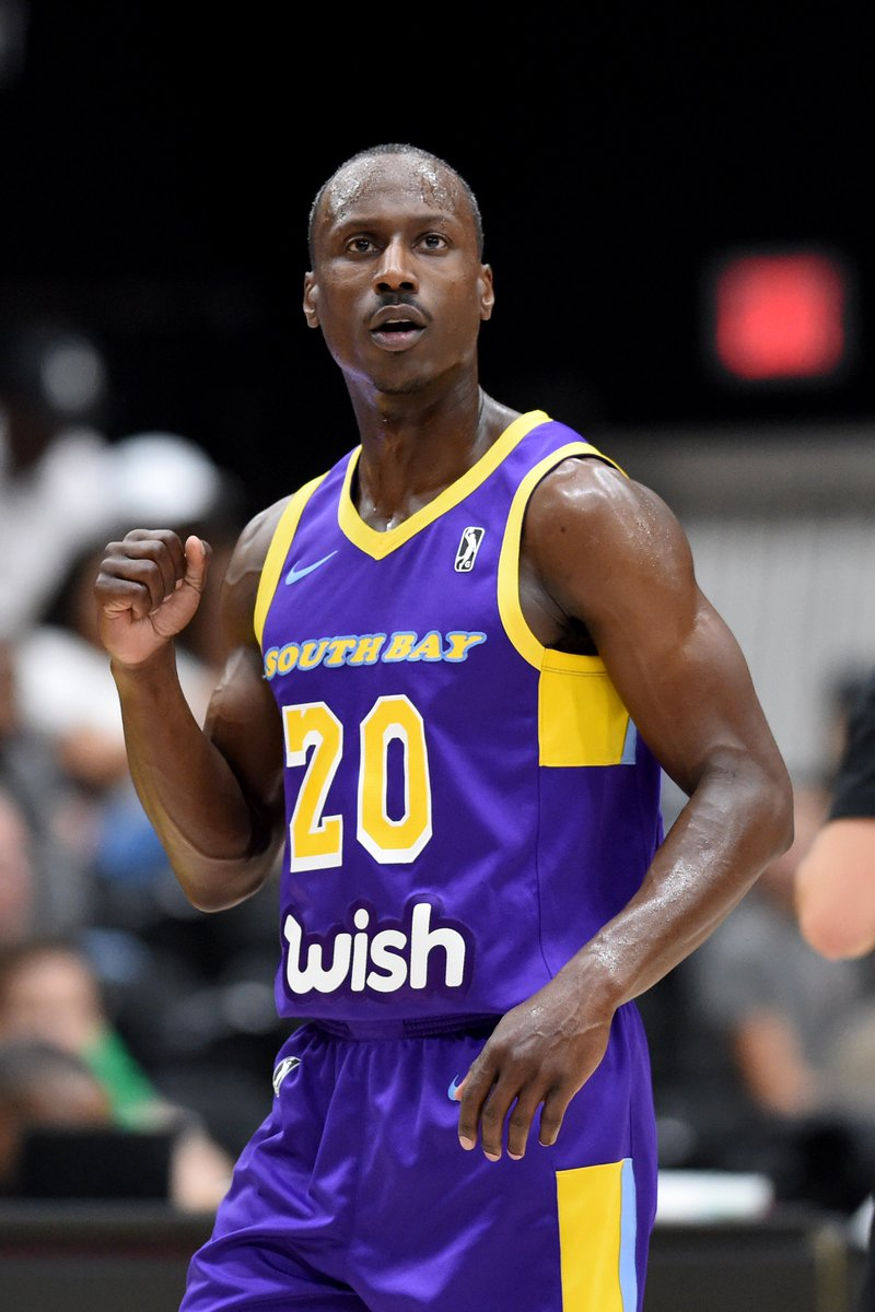 OFFICIAL: 11-year #NBAGLeague vet Andre Ingram has earned his 2nd #NBACallUp, from the @SouthBayLakers to the @Lakers! #ChangeTheGame  📰: https://on.nba.com/2ER814S