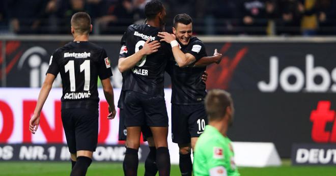 Video: Fortuna Dusseldorf vs Eintracht Frankfurt