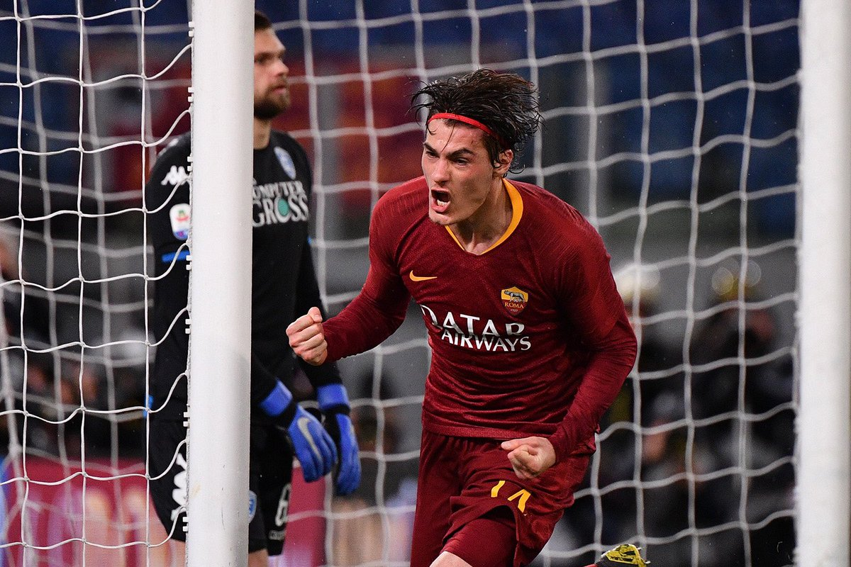 AS Roma 2-1 Empoli FC Highlights Video
